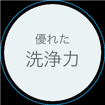 広島で販売・購入【スーパーアルカリイオン水】 特徴1:優れた洗浄力