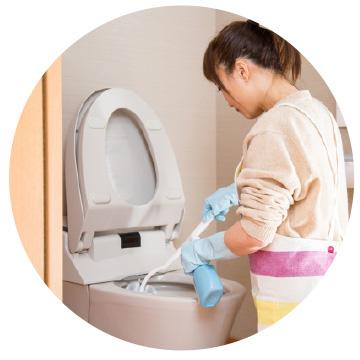 広島で販売・購入【スーパーアルカリイオン水】 トイレの清掃・消臭に