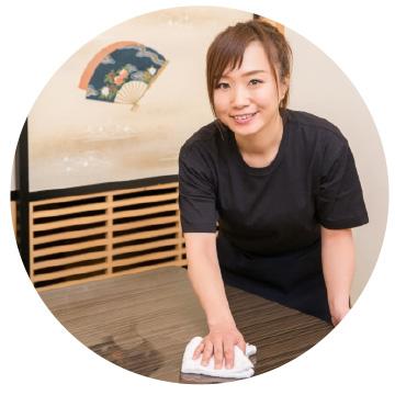 広島で販売・購入【スーパーアルカリイオン水】 テーブルのベタつきに